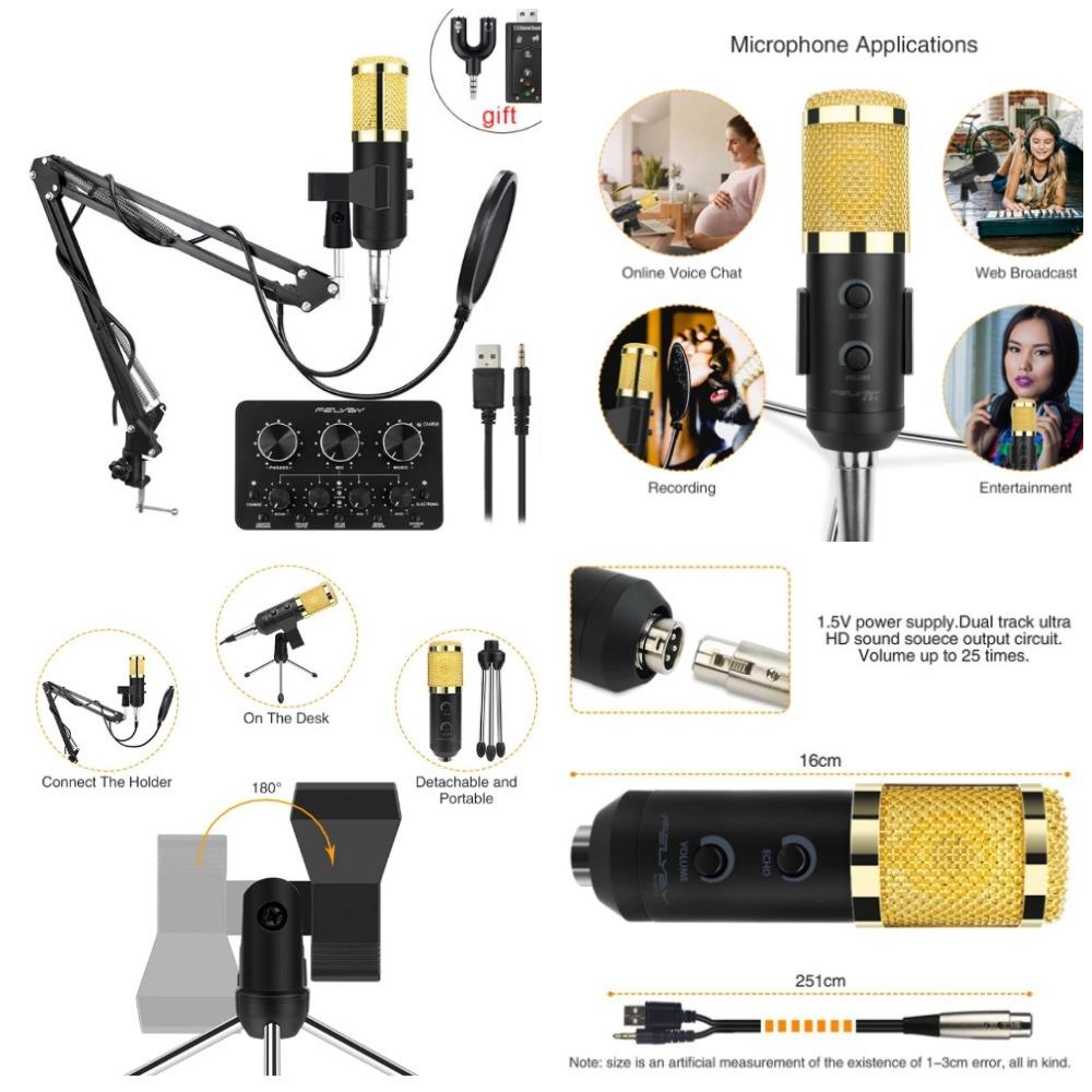 Топ 35 микрофонов с Алиэкспресс - для  стрима, ютуба и игр