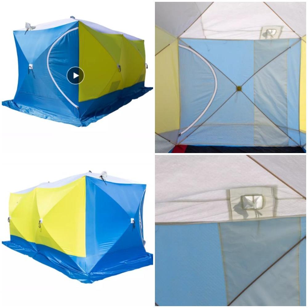 Палатки для зимней рыбалки с Алиэкспресс - обзор и рейтинг