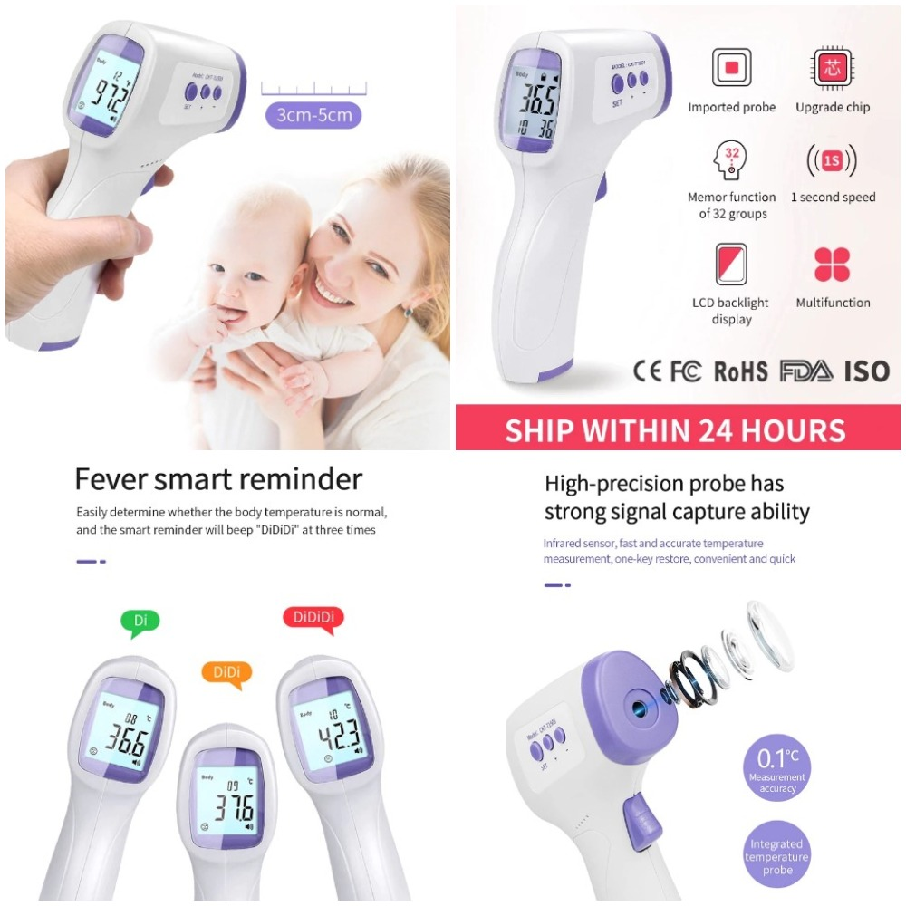 electronic thermometers